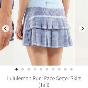 Lululemon Run:Pace Setter Skirt - Size 10 Tall